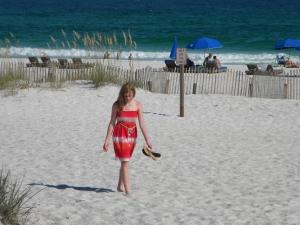 Peyton on Pensacola beach