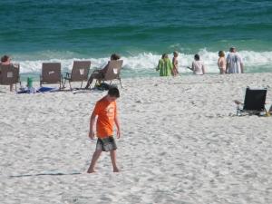 Son on Pensacola Beach
