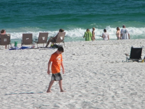 Son on Pensacola Beach