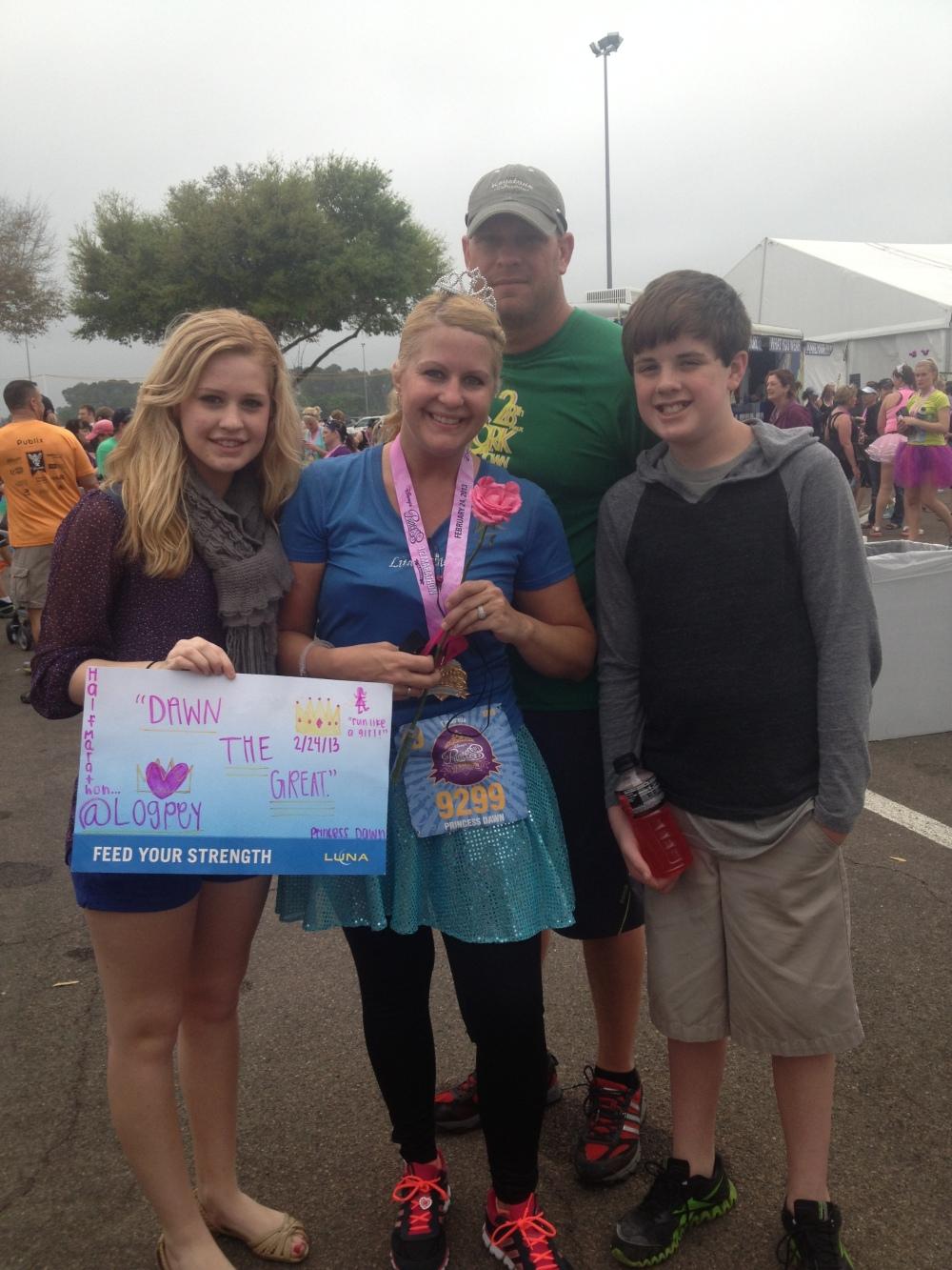 My Very First Half Marathon at Walt Disney World!
