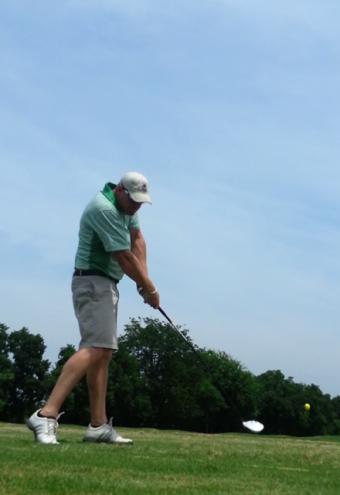 Ryan Golfing