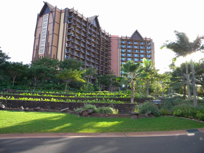 side view of Aulani