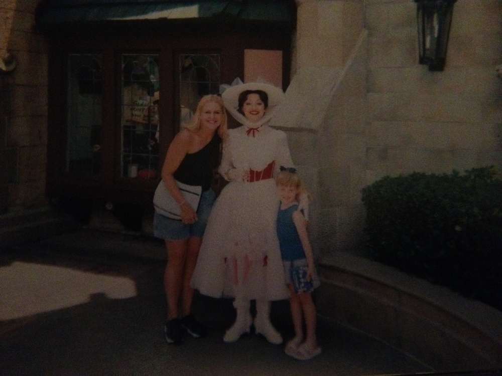 Me, Pey & Mary Poppins At MK