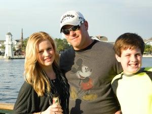 Ryan & Kids at Boardwalk