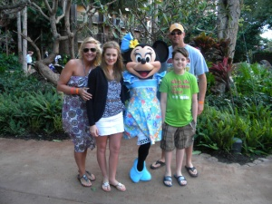Aulani family photo