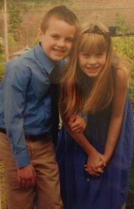 Easter with Peyton & Logan