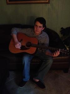 Logan & Guitar