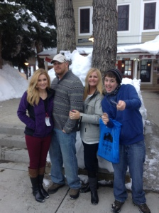 Family in Colorado