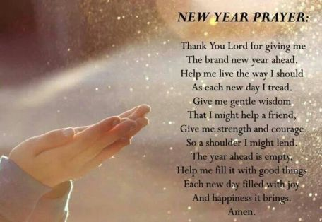New Year Prayer