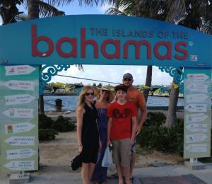 My Family In Nassau, Bahamas
