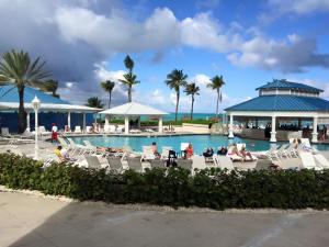 Melia Resort Pool Area