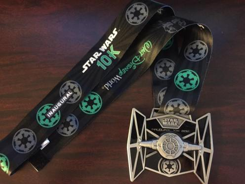 Star Wars !0K Medal