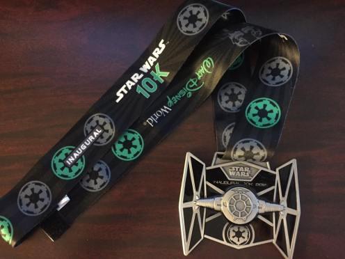 Star Wars !0K Medal