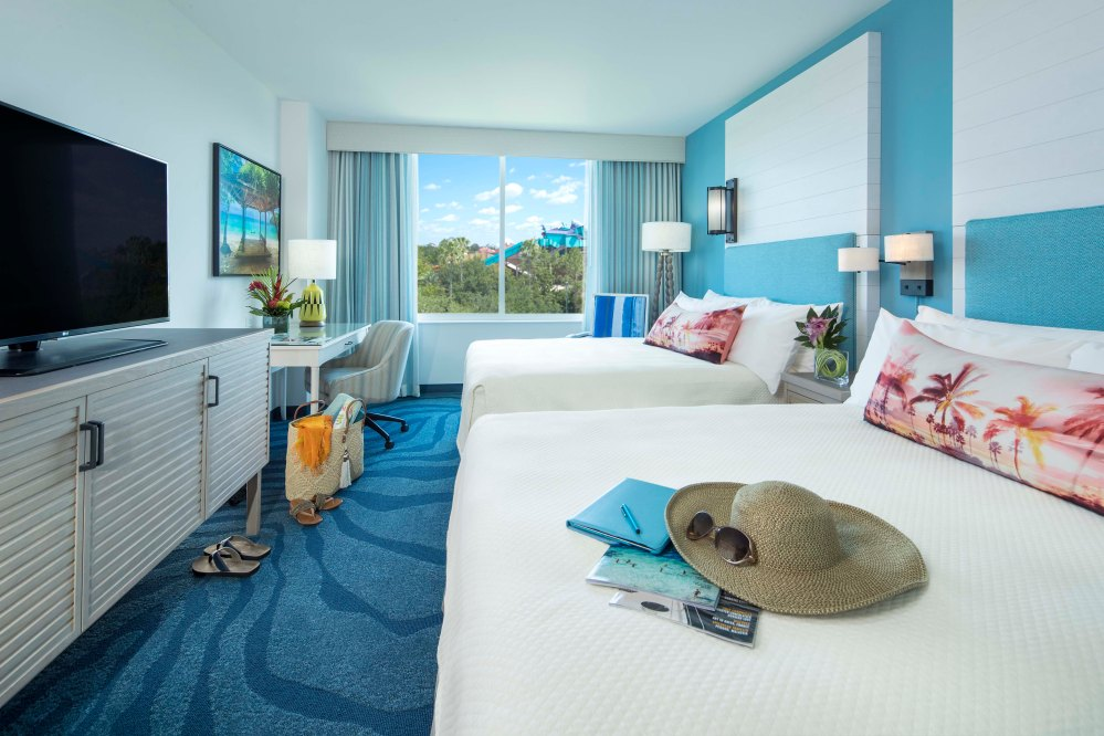 16-16740, Lowes Sapphire Falls Resort pre-open photo shoot. Room